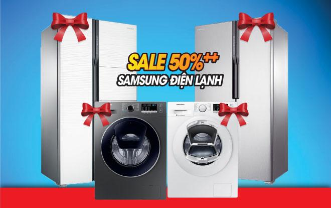 Tủ lạnh máy giặt Samsung giảm đến 13 triệu