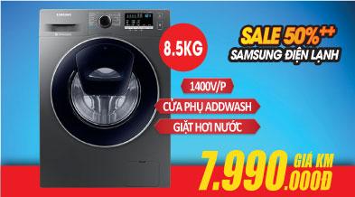 Máy giặt samsung cửa ngang 8.5kg