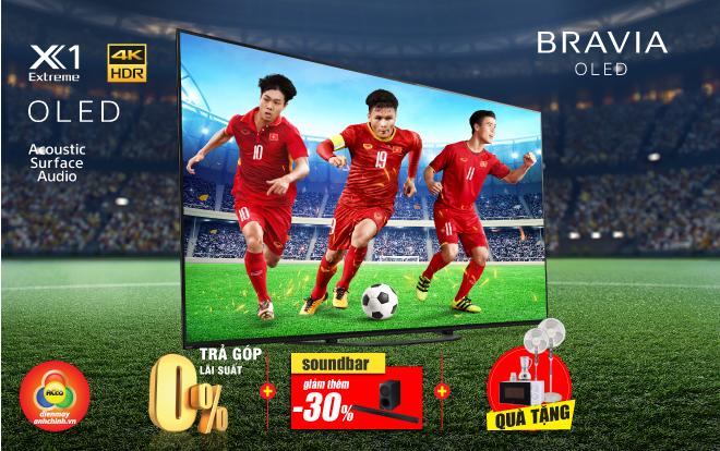 OLED Sony Bravia - tặng quà 5 triệu