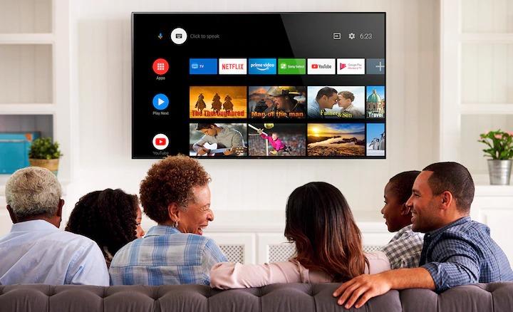 Hệ điều hành android tivi Sony