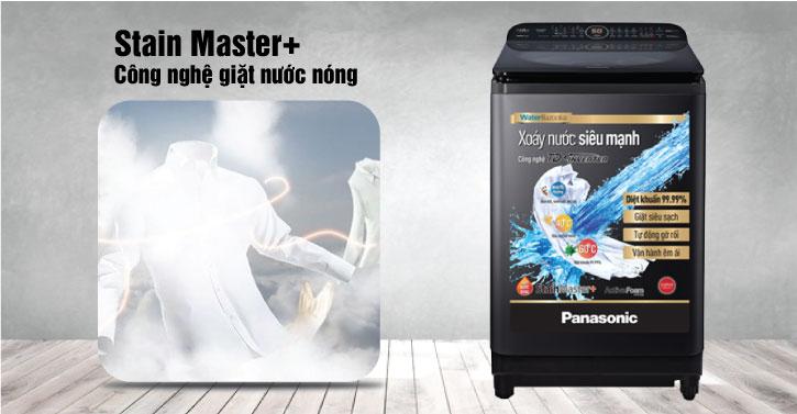 Stain Master+ công nghệ giặt nước nóng