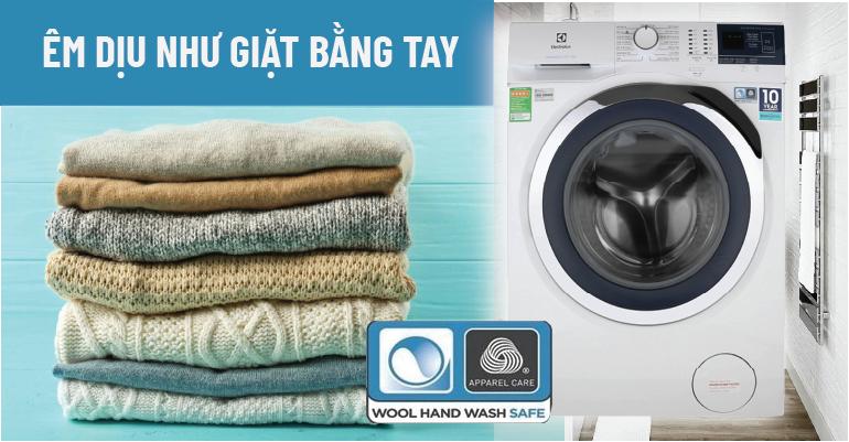 Chế độ giặt đồ len