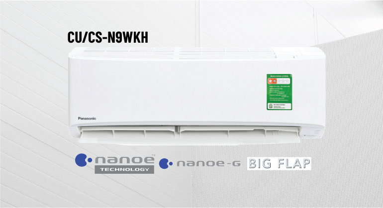 Điều hòa Panasonic CS-N9WKH