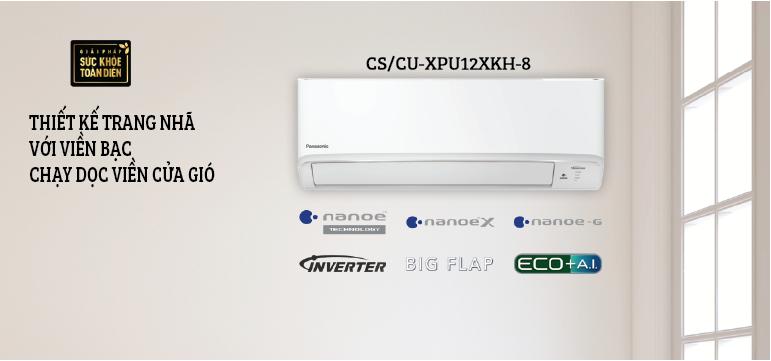 Điều hòa Panasonic 1.5HP CS-XPU12XKH-8