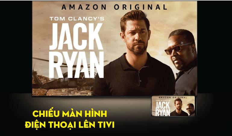 Smart tivi TCL43 inch L43S5200 CHIỀU MÀN HÌNH ĐIỆN THOẠI LÊN TV QUA ỨNG DỤNGT-cast