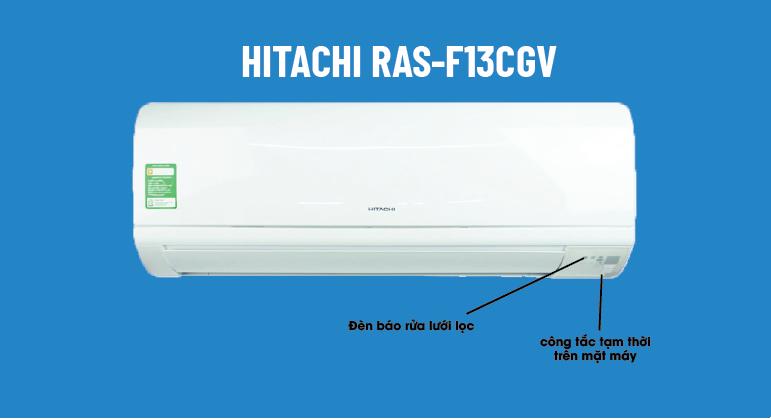Điều hòa Hitachi RAS-F13CGV