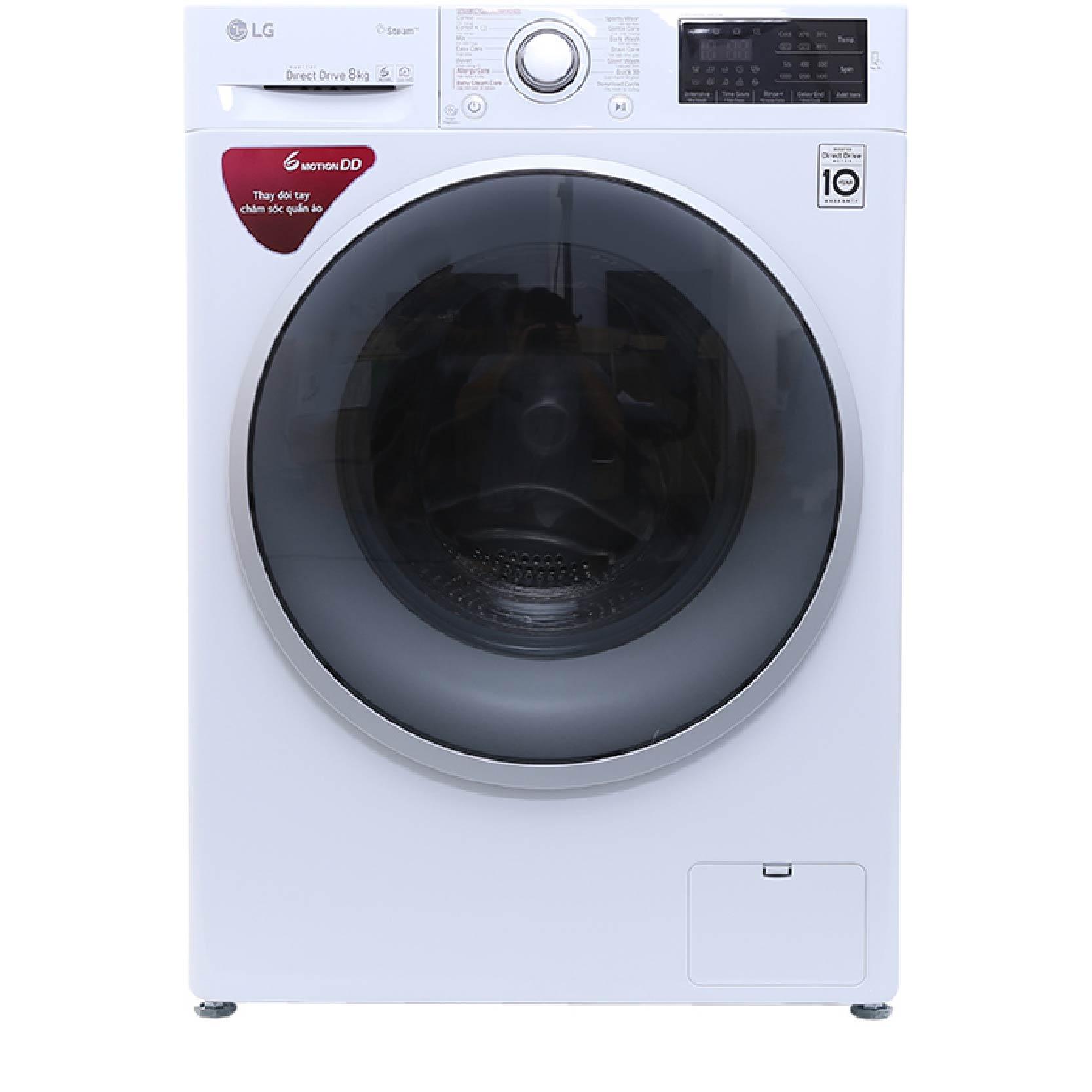 Máy giặt lồng ngang LG 8kg FC1408S4W2