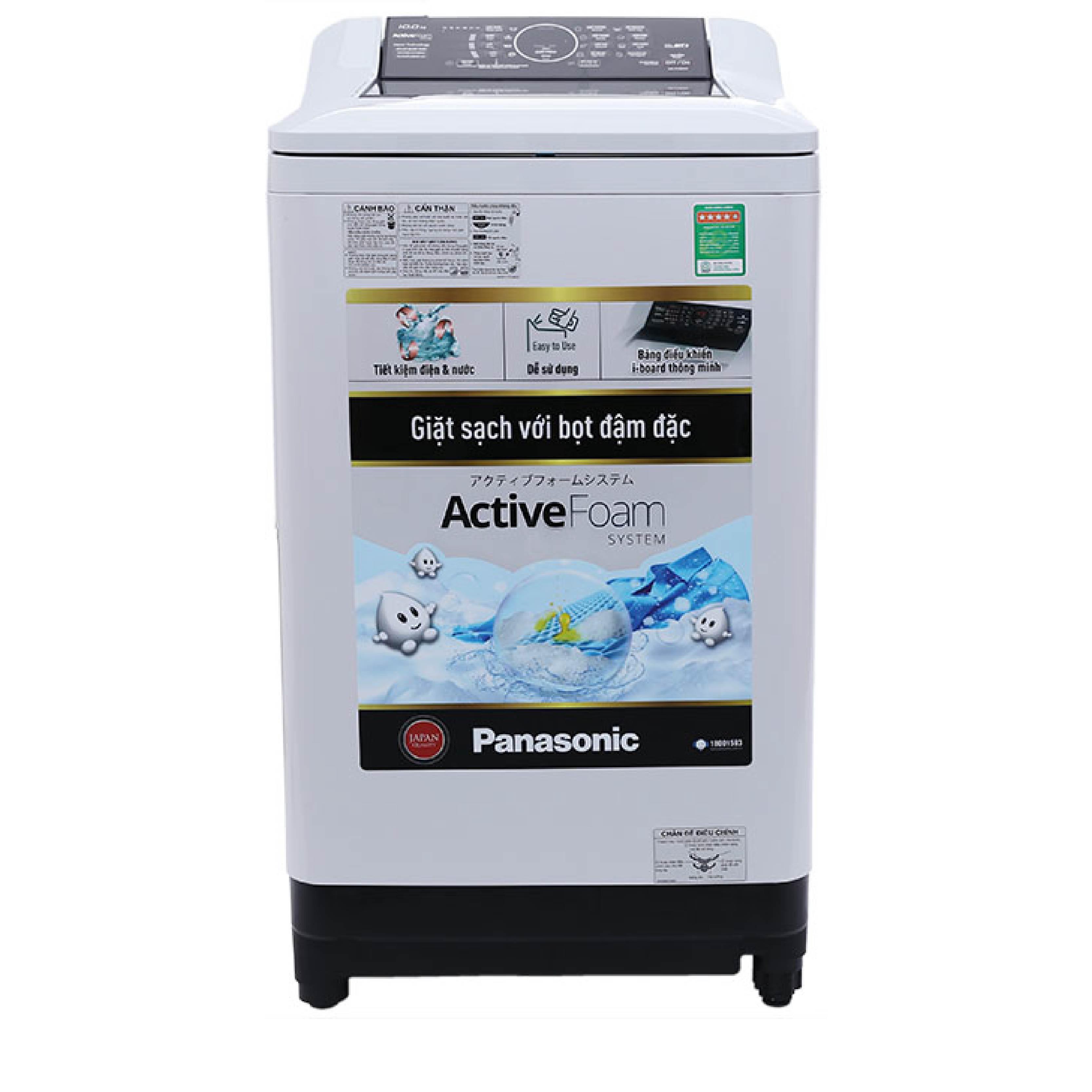 Máy giặt cửa trên Panasonic 9kg NA-F90A4HRV