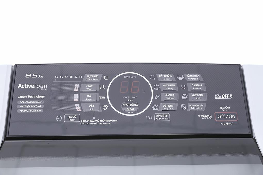 Máy giặt cửa trên Panasonic 8.5kg NA-F85A4HRV