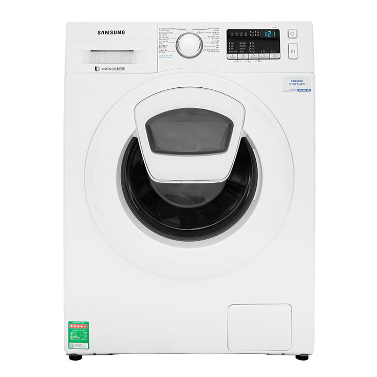 Máy giặt Samsung Addwash Inverter 9 Kg WW90K44G0YW/SV