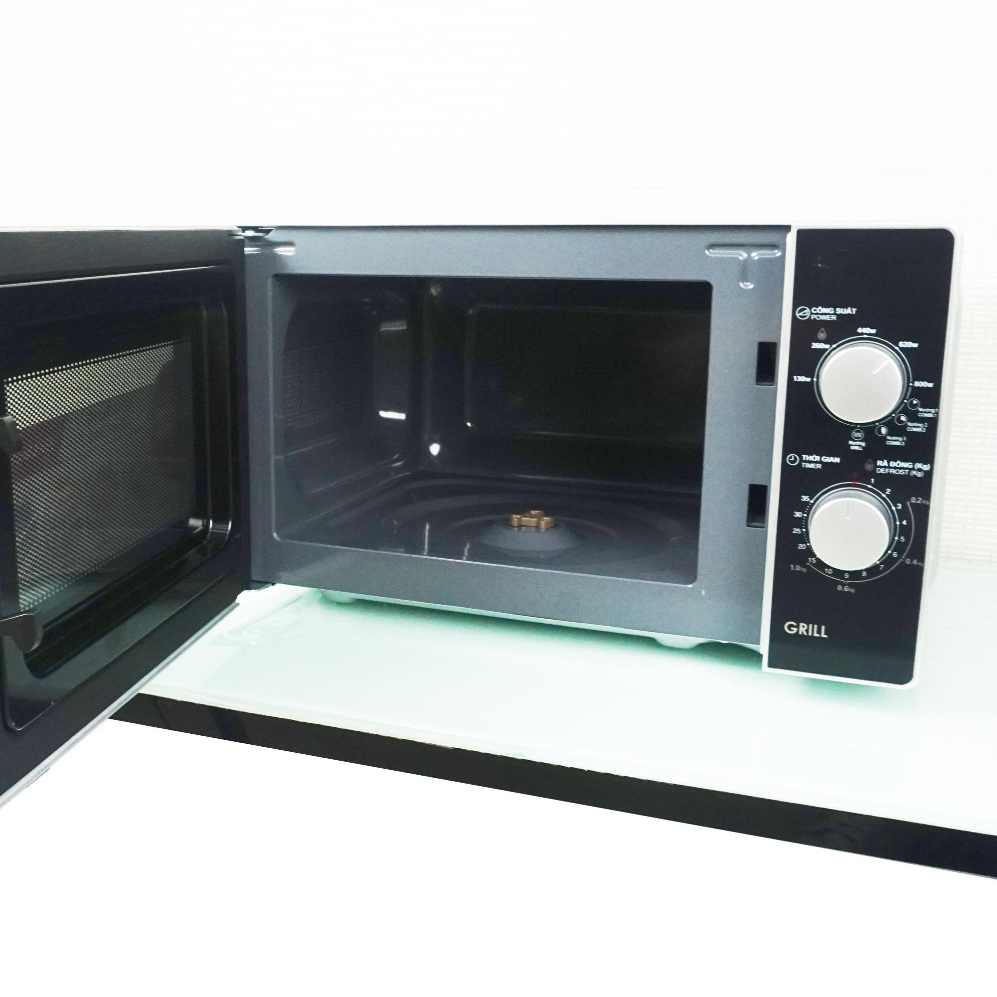Lò vi sóng có nướng Sharp 20 lít R-G224VN-S