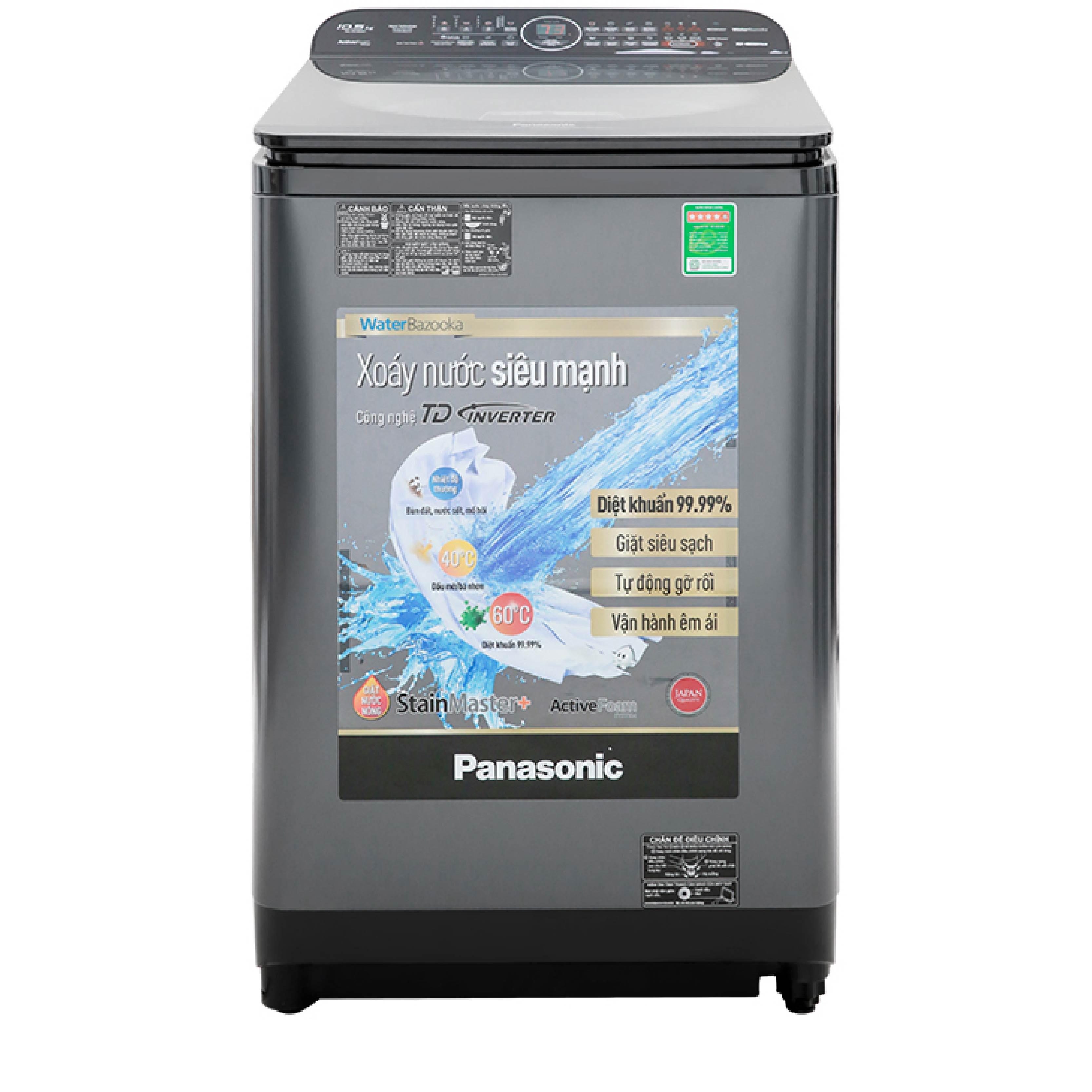 Máy giặt cửa trên Panasonic inverter 10.5kg NA-FD10AR1BV