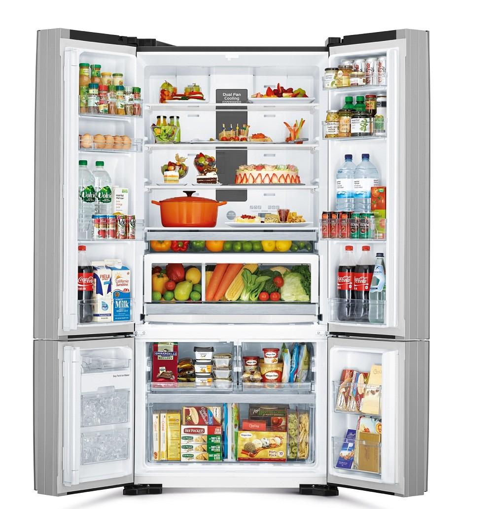 Tủ lạnh Hitachi 640L Inverter WB800PGV5-GBK
