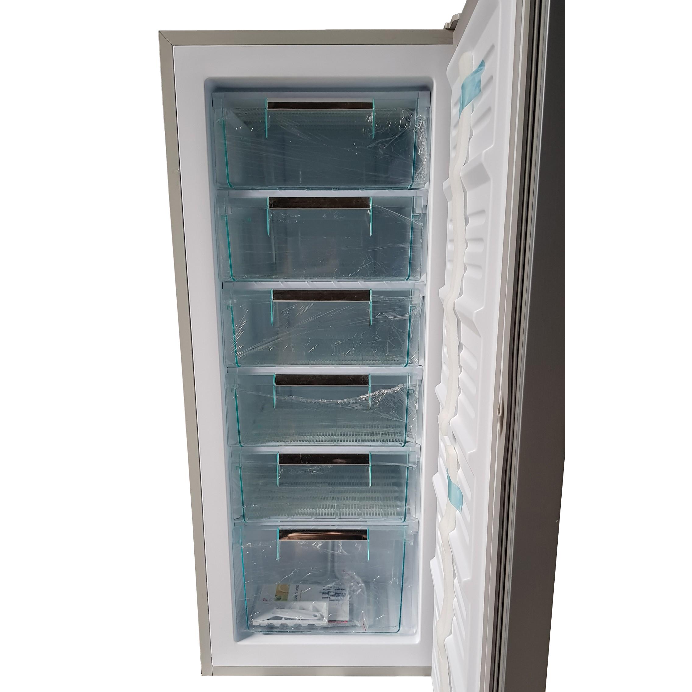 Tủ đông đứng Denver AS369MD màu xám bạc